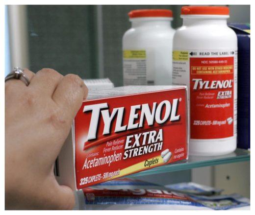 Paracetamol surprising psychoactive effects