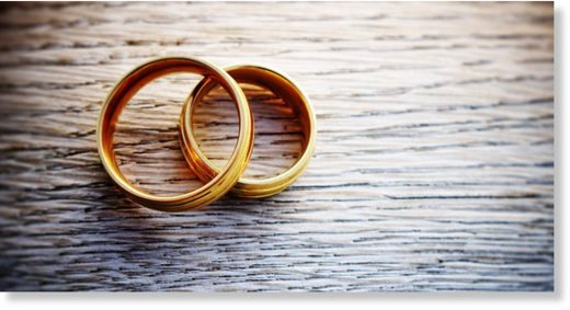 Religious couples tend to have happier marriages