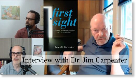 SOTT FOCUS: MindMatters: Interview with James Carpenter: First Sight, Psi, and Consciousness