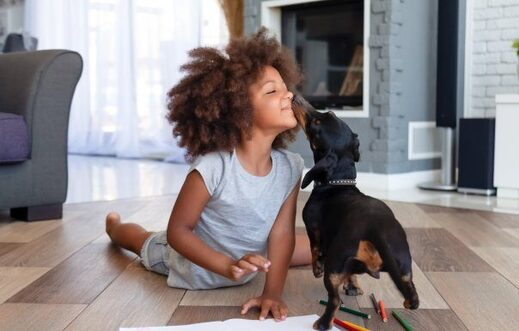 Young children with pet dogs seen having fewer social interaction problems than other kids